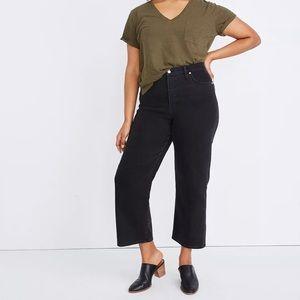 Madewell   Slim wide leg jeans